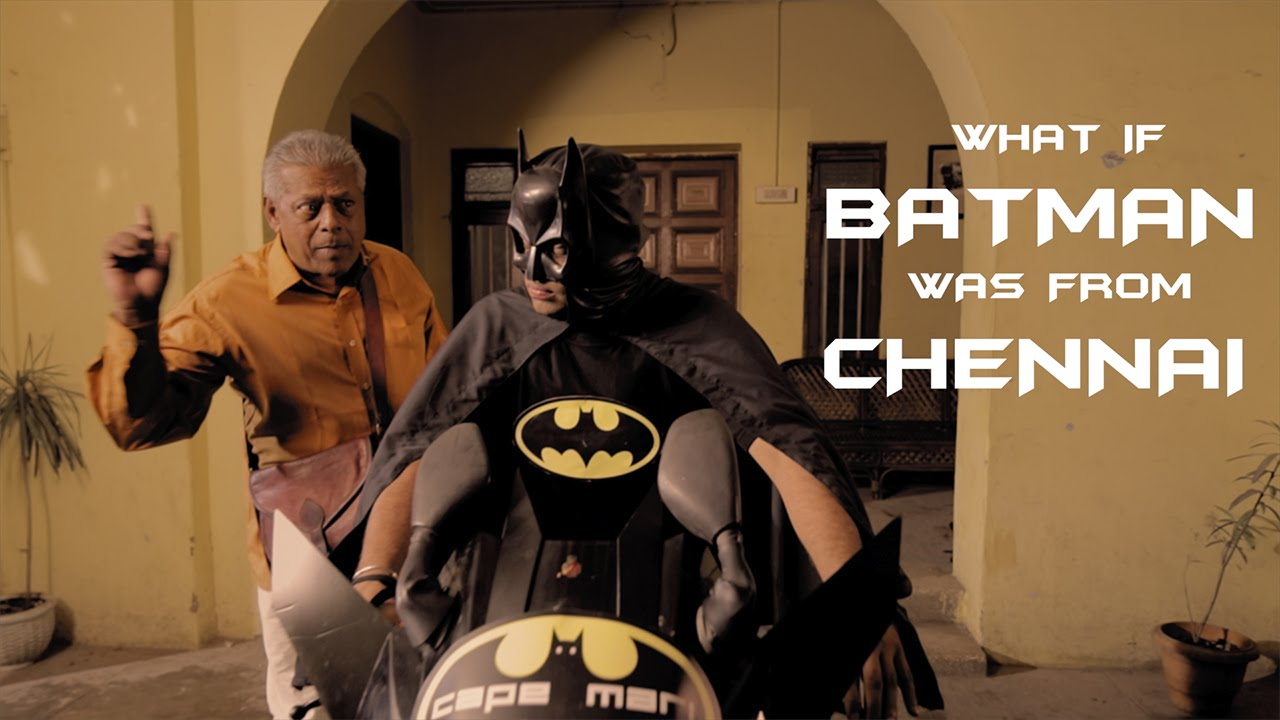 What If Batman Was From Chennai? This Is Exactly How His Life Would Be.